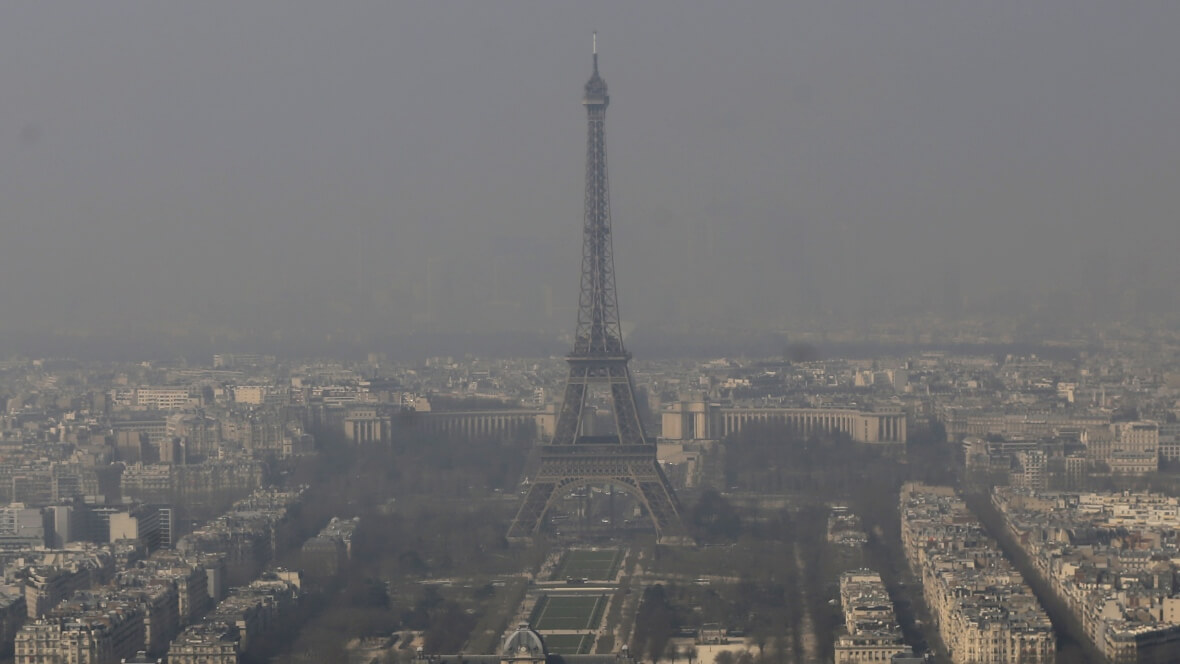 Загрязнение воздуха в Париже