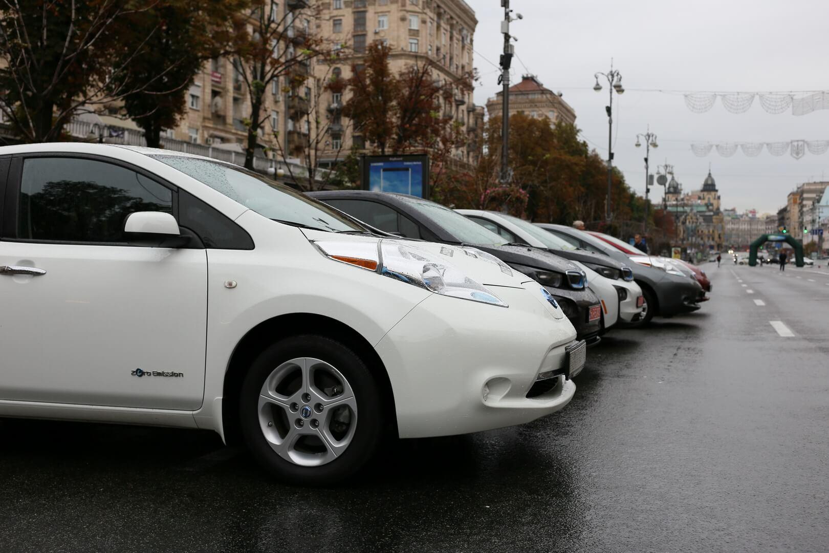 Электромобили на EcoDriveShow 2017