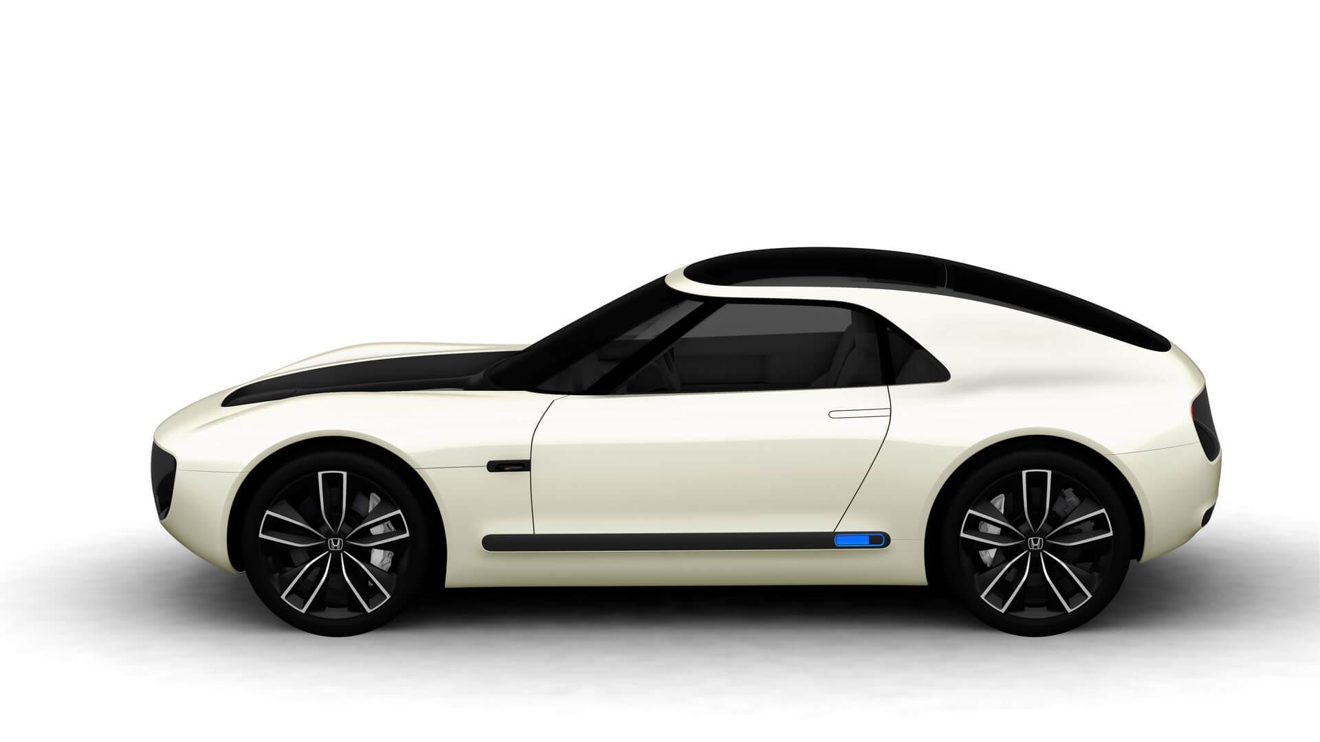 Электрический концепт вретро-стиле Honda Sports EV