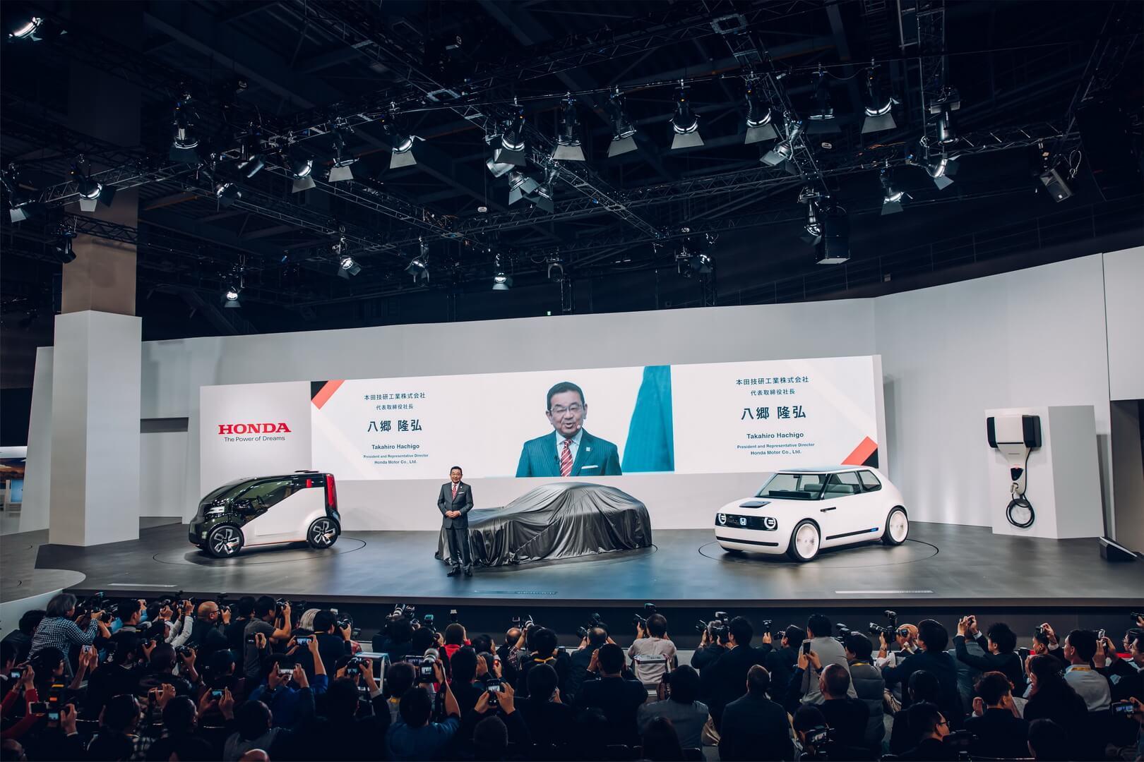 Представление электромобилей Honda на45-м Токийском автосалоне