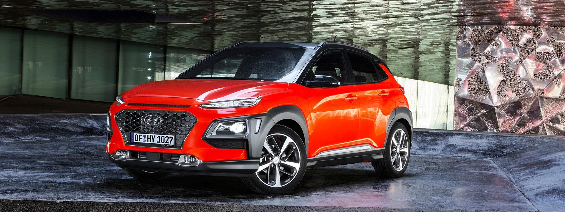 Бензиновая версия Hyundai Kona