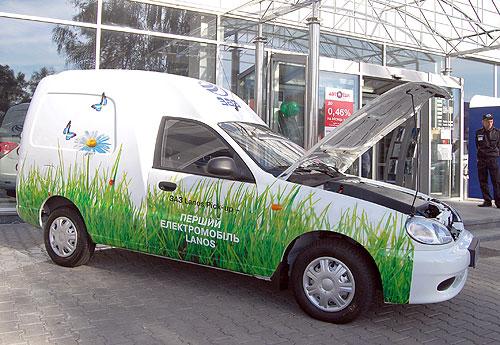 Электрический фургон Lanos Cargo Т150
