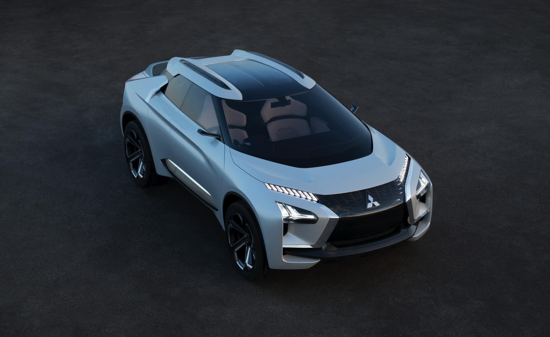 Концепт электрического внедорожника Mitsubishi e-Evolution