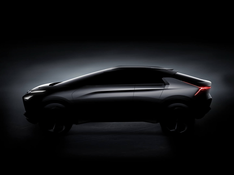 Силует MitsubishiI e-Evolution Concept