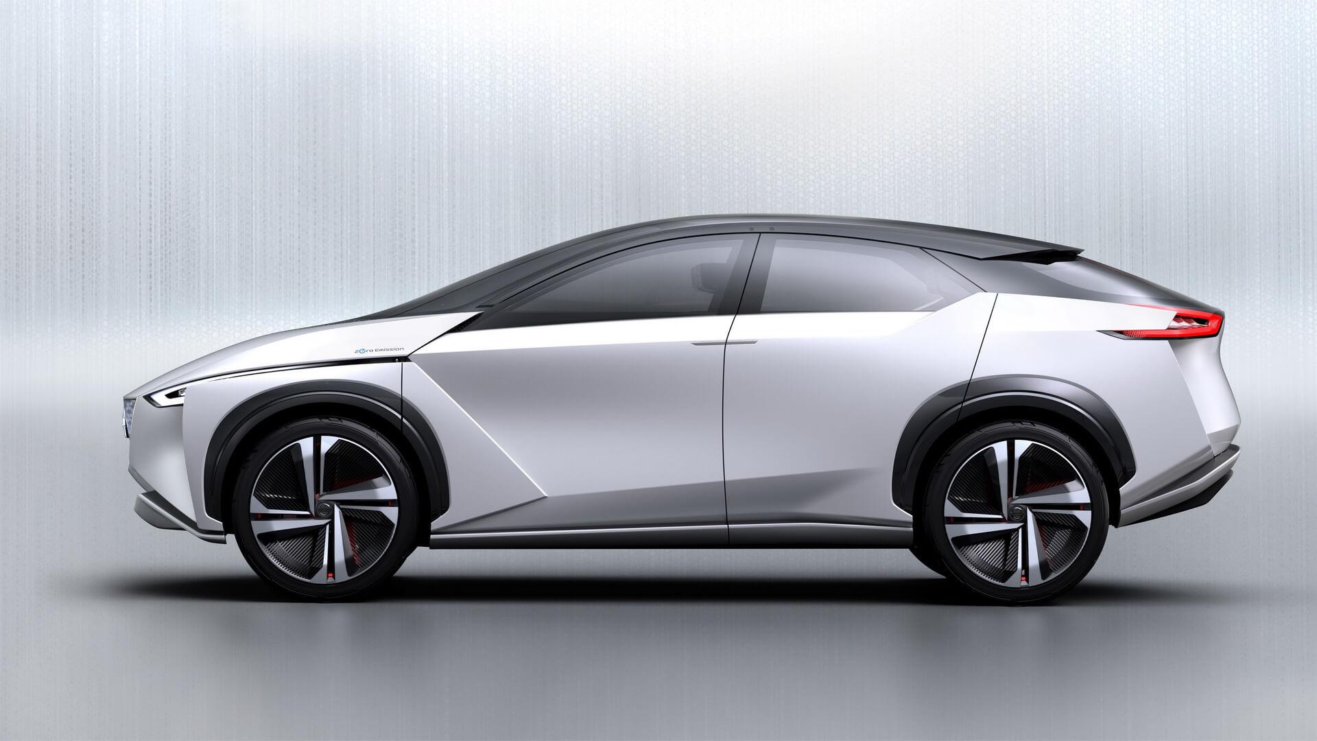 Дизайн электрокара Nissan IMx