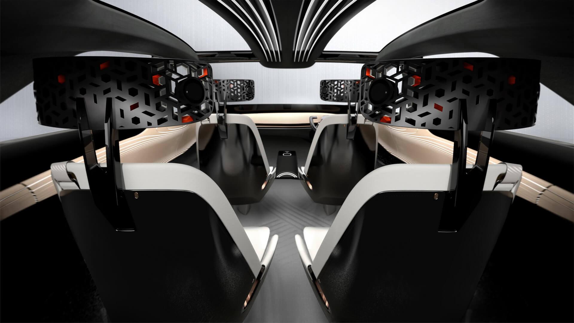 Размещение сидений в Nissan IMx