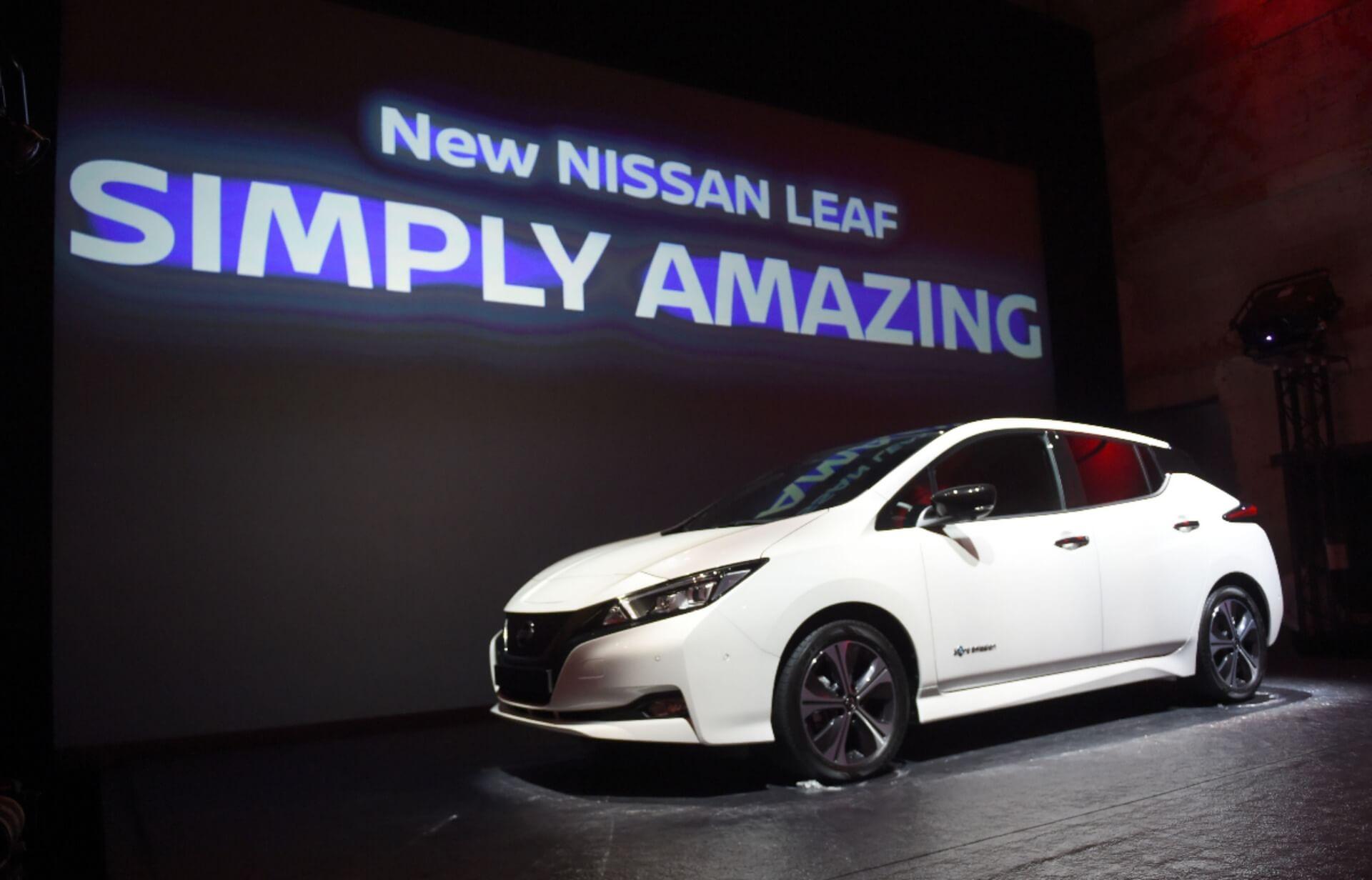 Nissan Leaf 2018 «2.ZERO»