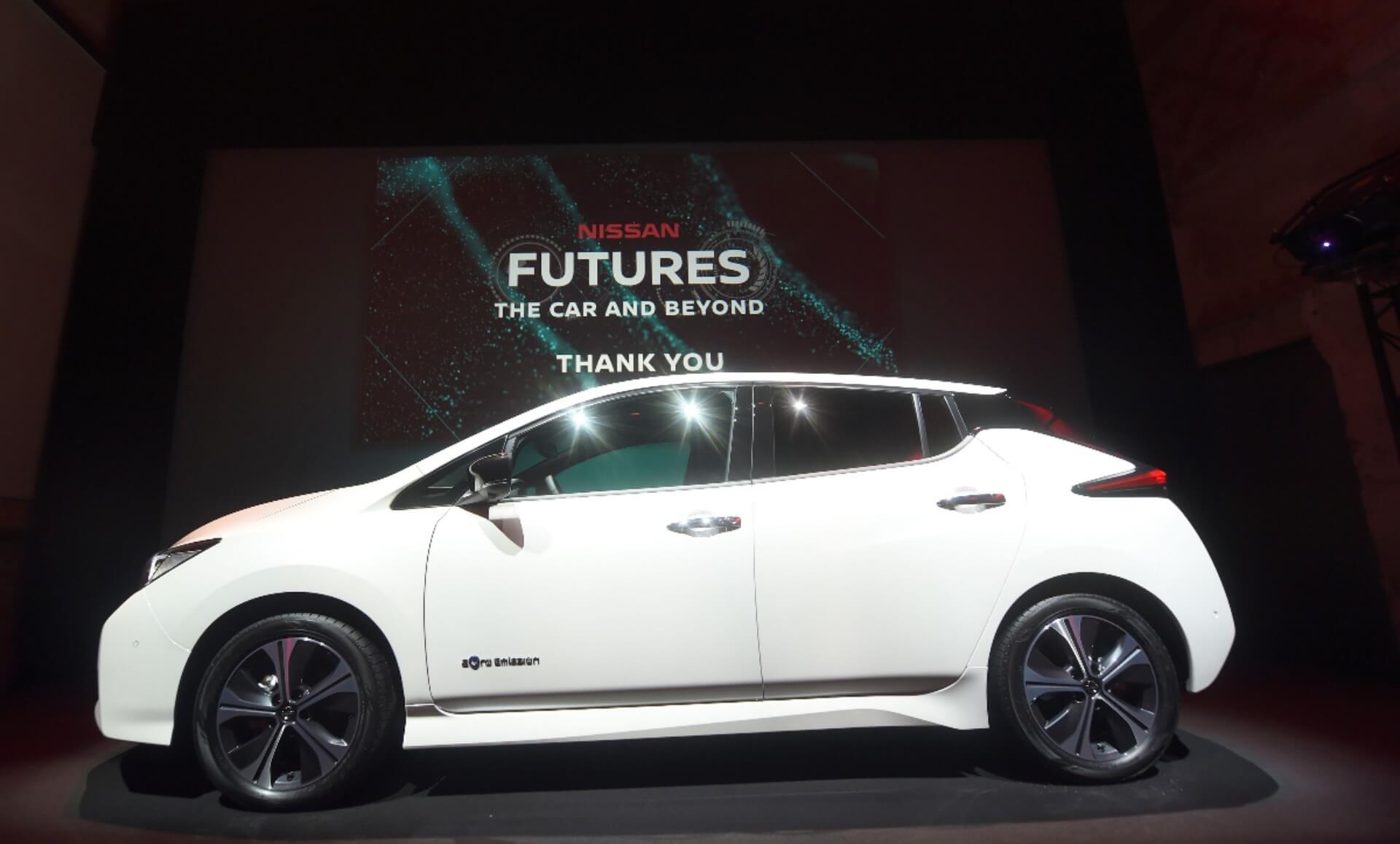 Презентация Nissan Leaf «2.ZERO» вОсло (Норвегия) 2октября, 2017 года