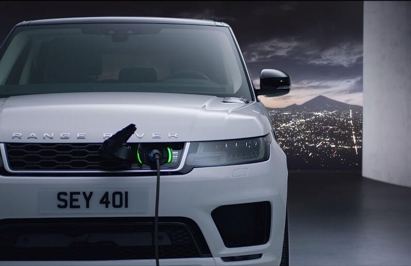 Первый электрицифированный Range Rover Sport plug-in hybrid