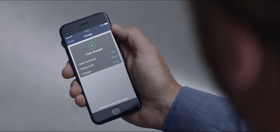 Приложение для смартфонов Jaguar Land Rover Activity Key