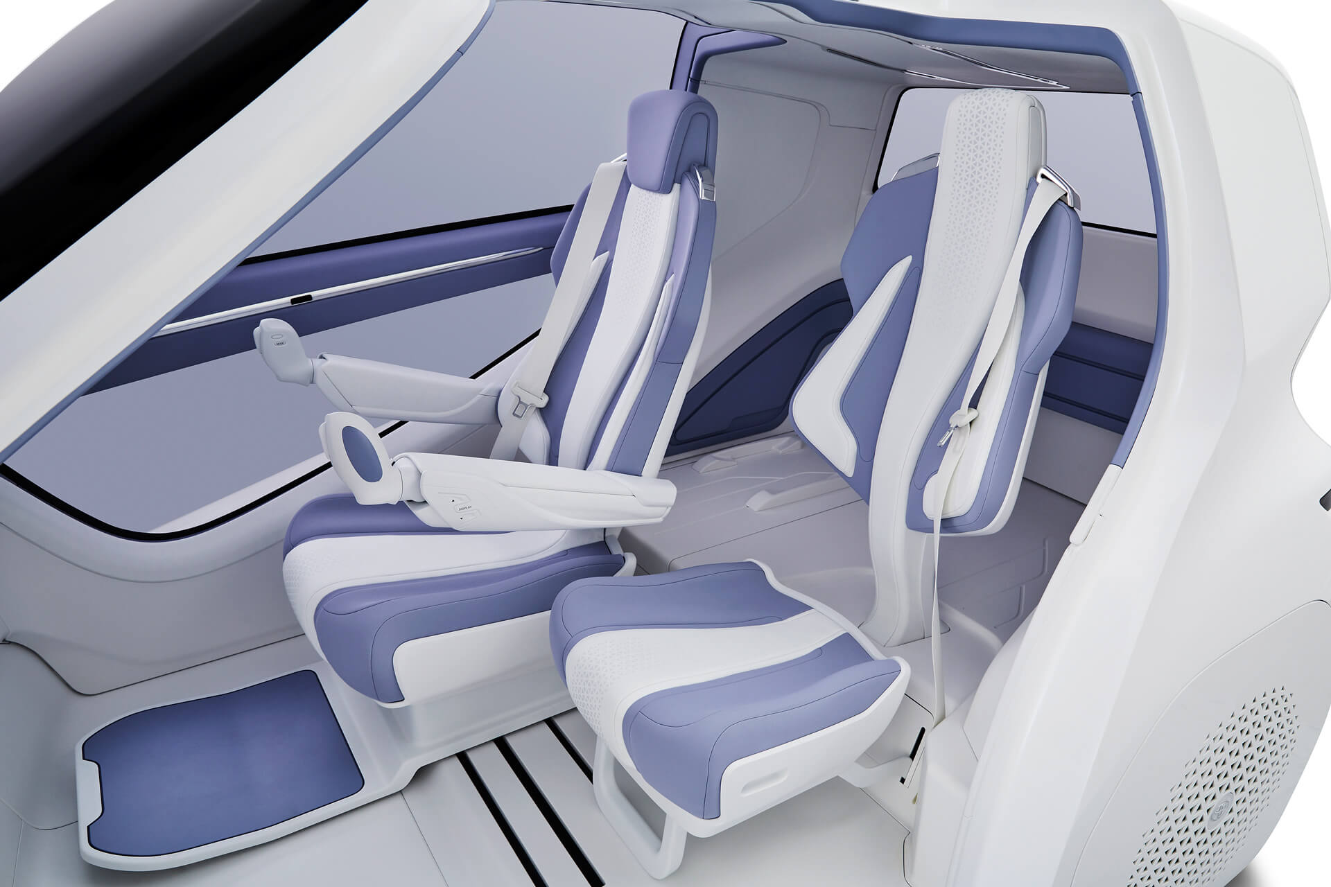 Салон Toyota Concept-i Ride