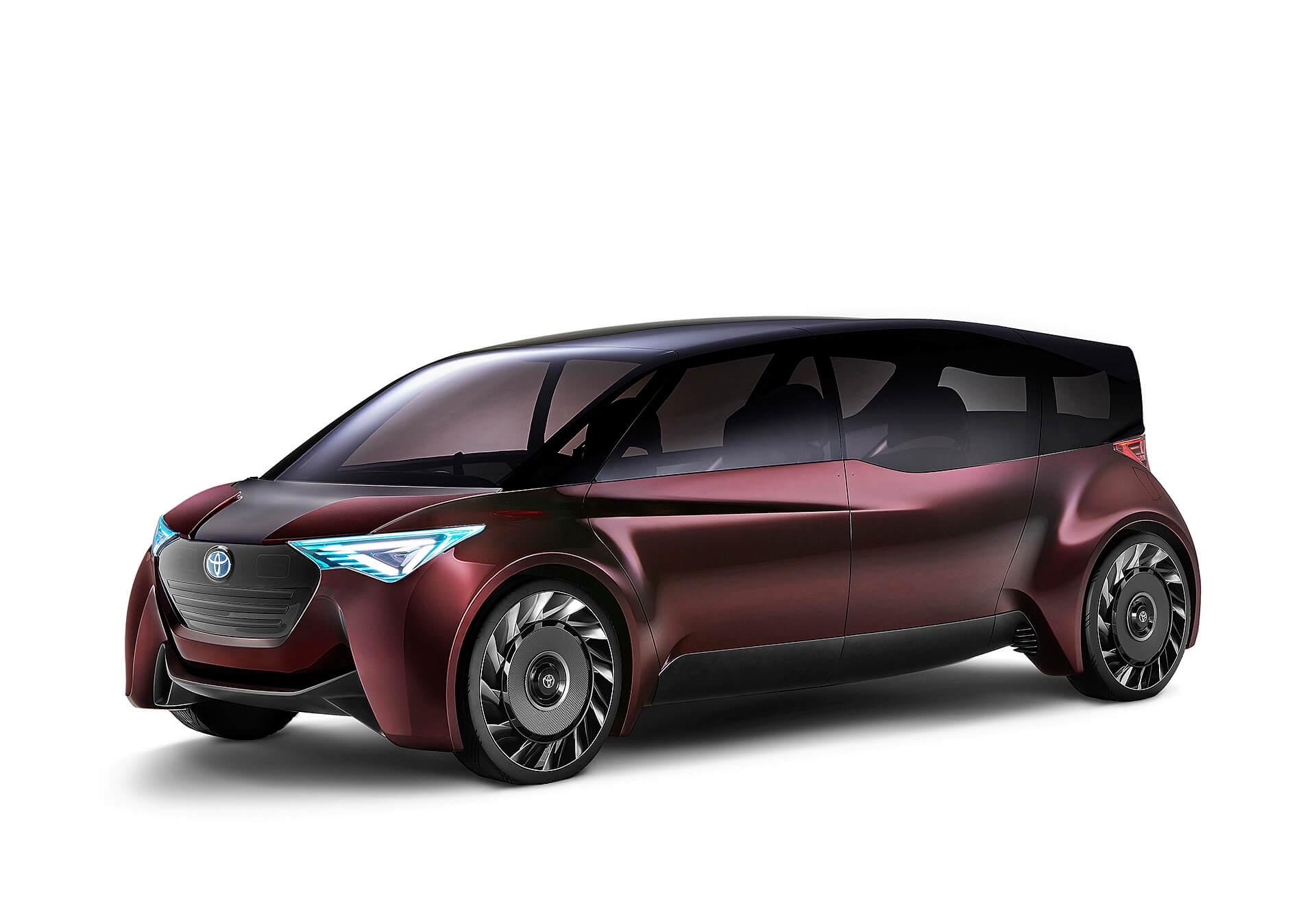 Концепт Toyota «Fine-Comfort Ride» на топливных элементах