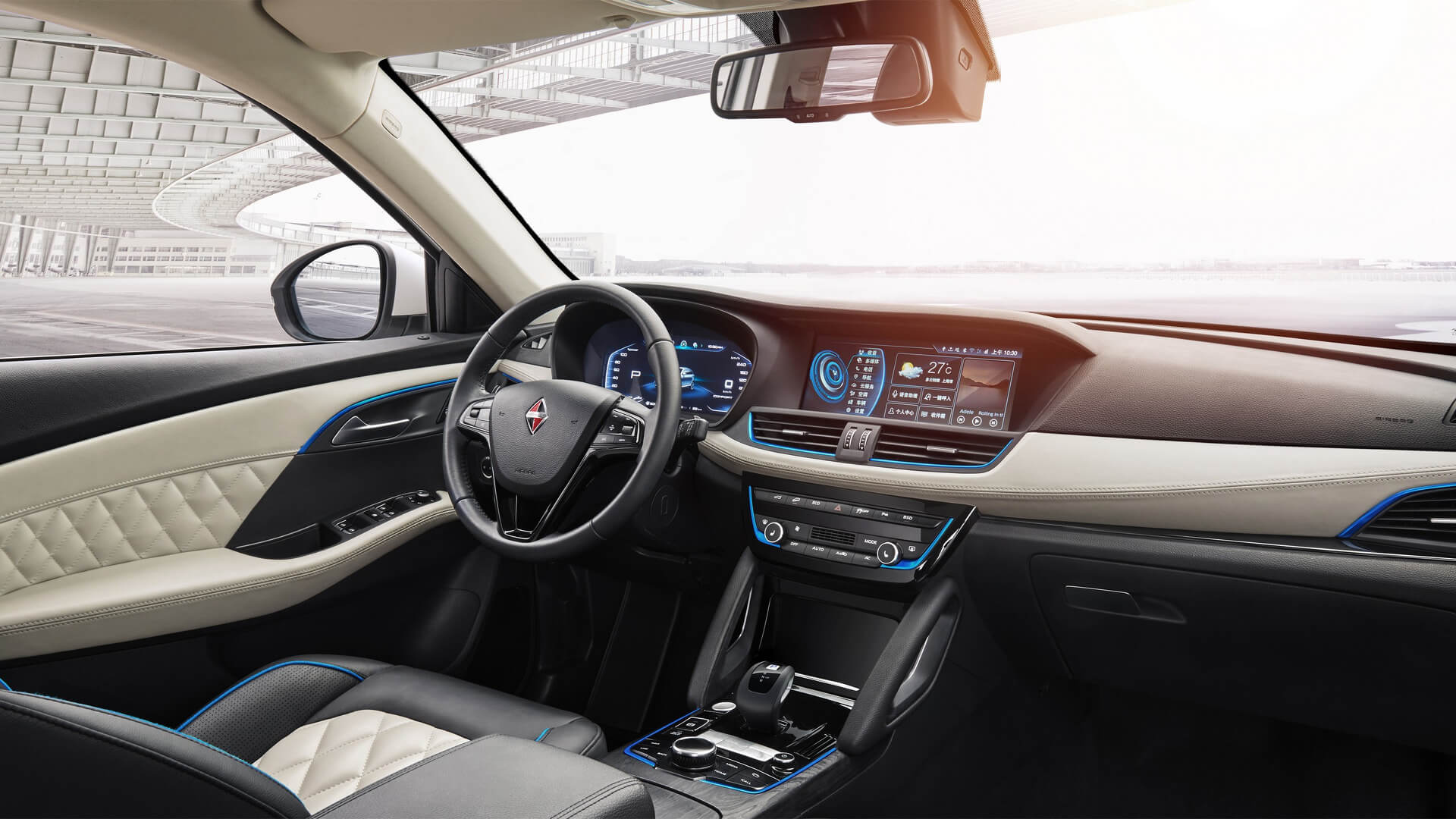 Салон электромобиля Borgward BXi7