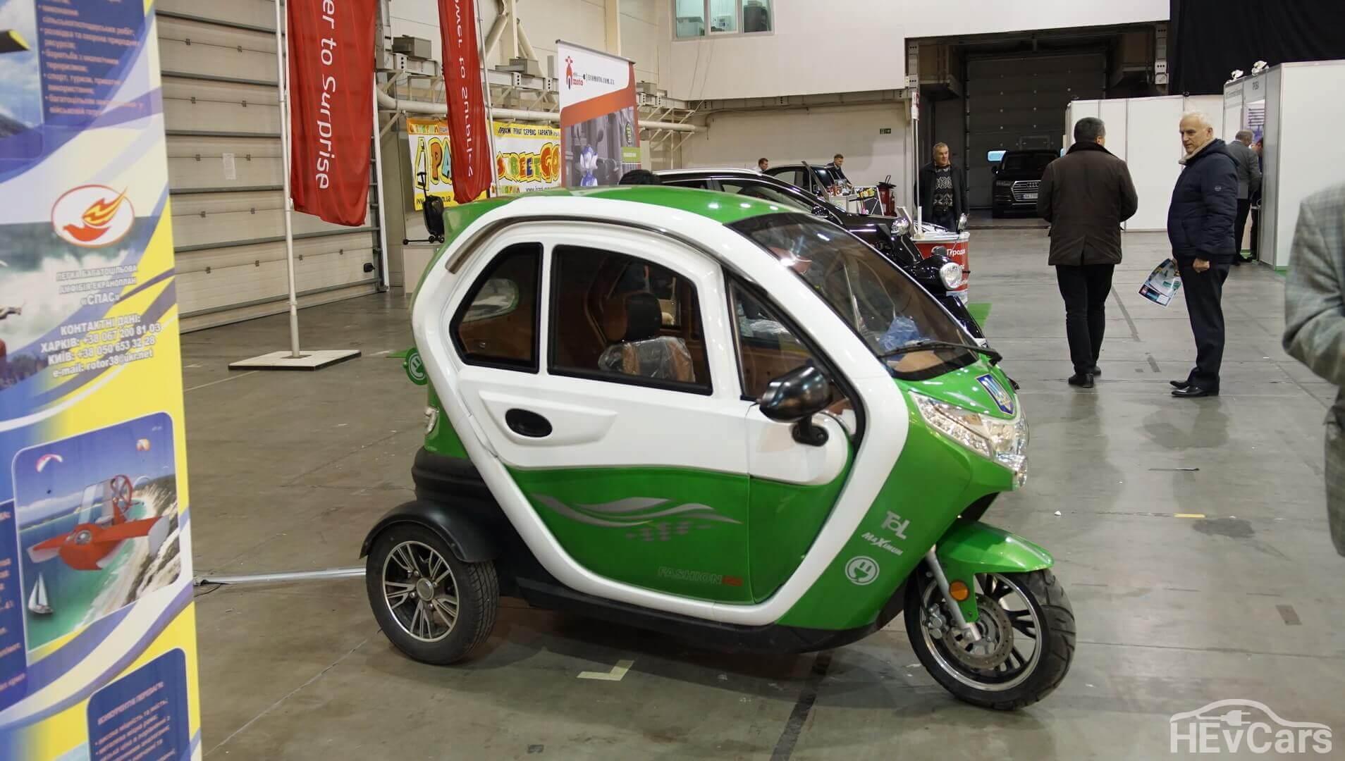 Электрический трицикл Bostrix
