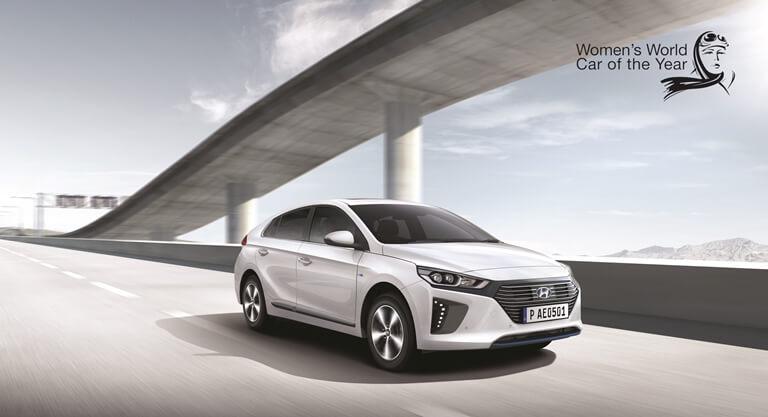 Hyundai IONIQ завоевал высшую награду женского конкурса Women's World Car ofthe Year