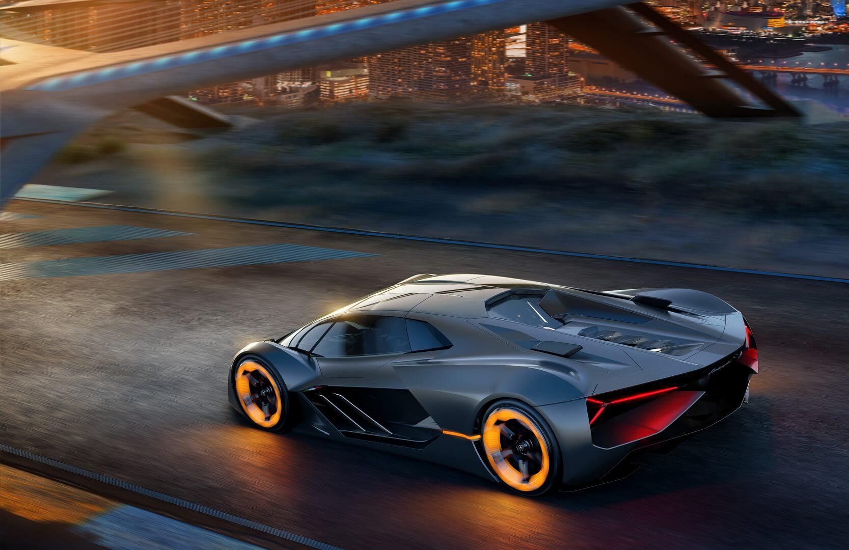 Электрический концепт-кар Lamborghini Terzo Millennio
