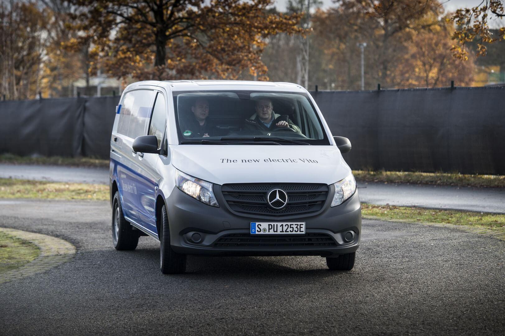 Фотография экоавто Mercedes-Benz eVito - фото 7