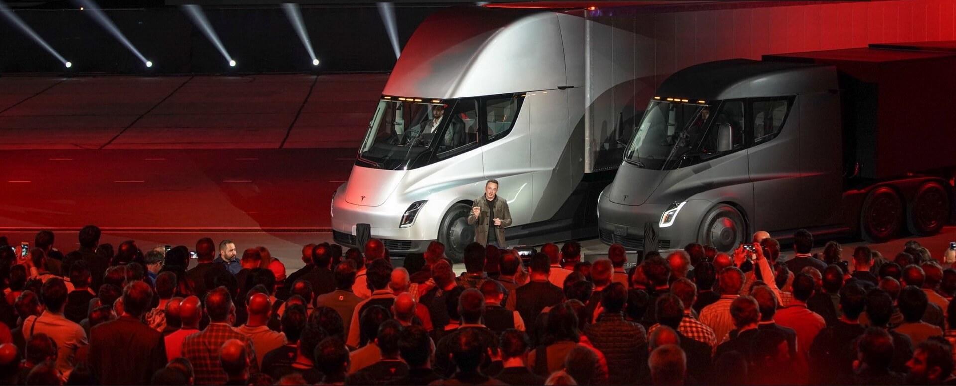 Илон Маск презентует Tesla Semi