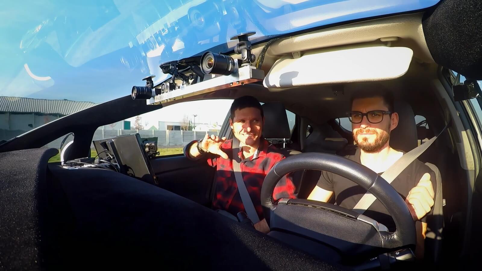 Технология автономного вождения AImotive использует камеры