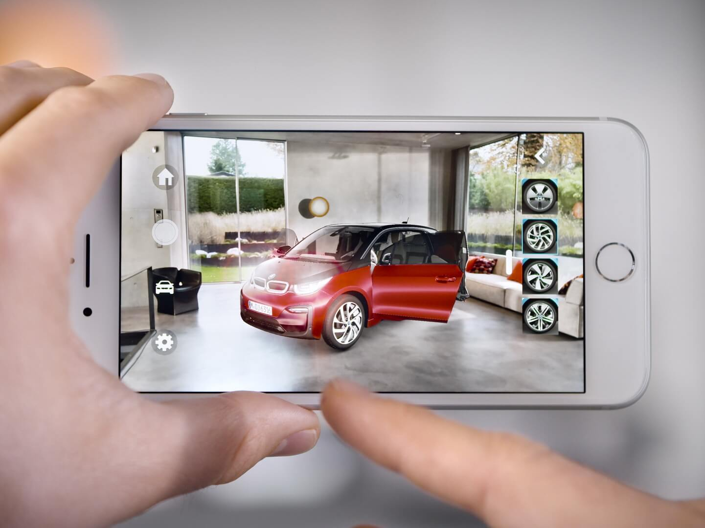 Приложение BMW i Visualiser для iOS
