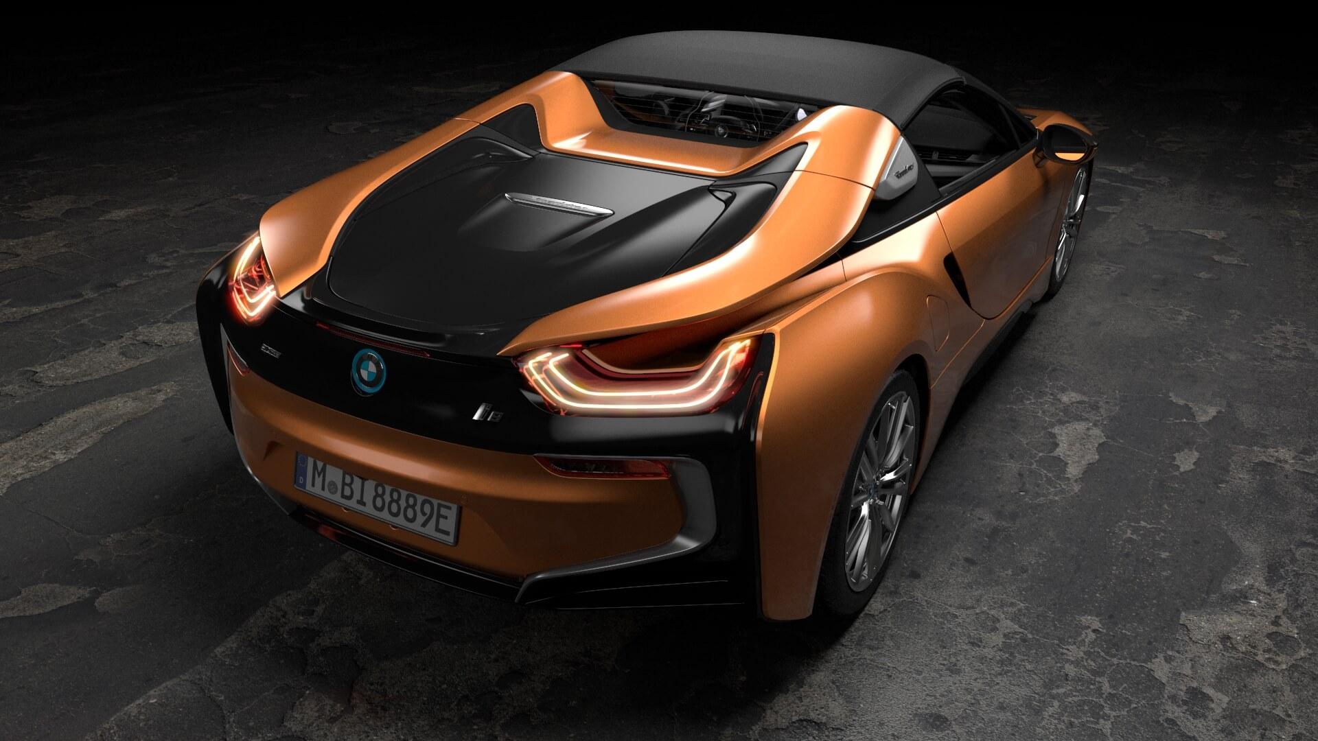 Фотография экоавто BMW i8 Родстер 2018 - фото 11