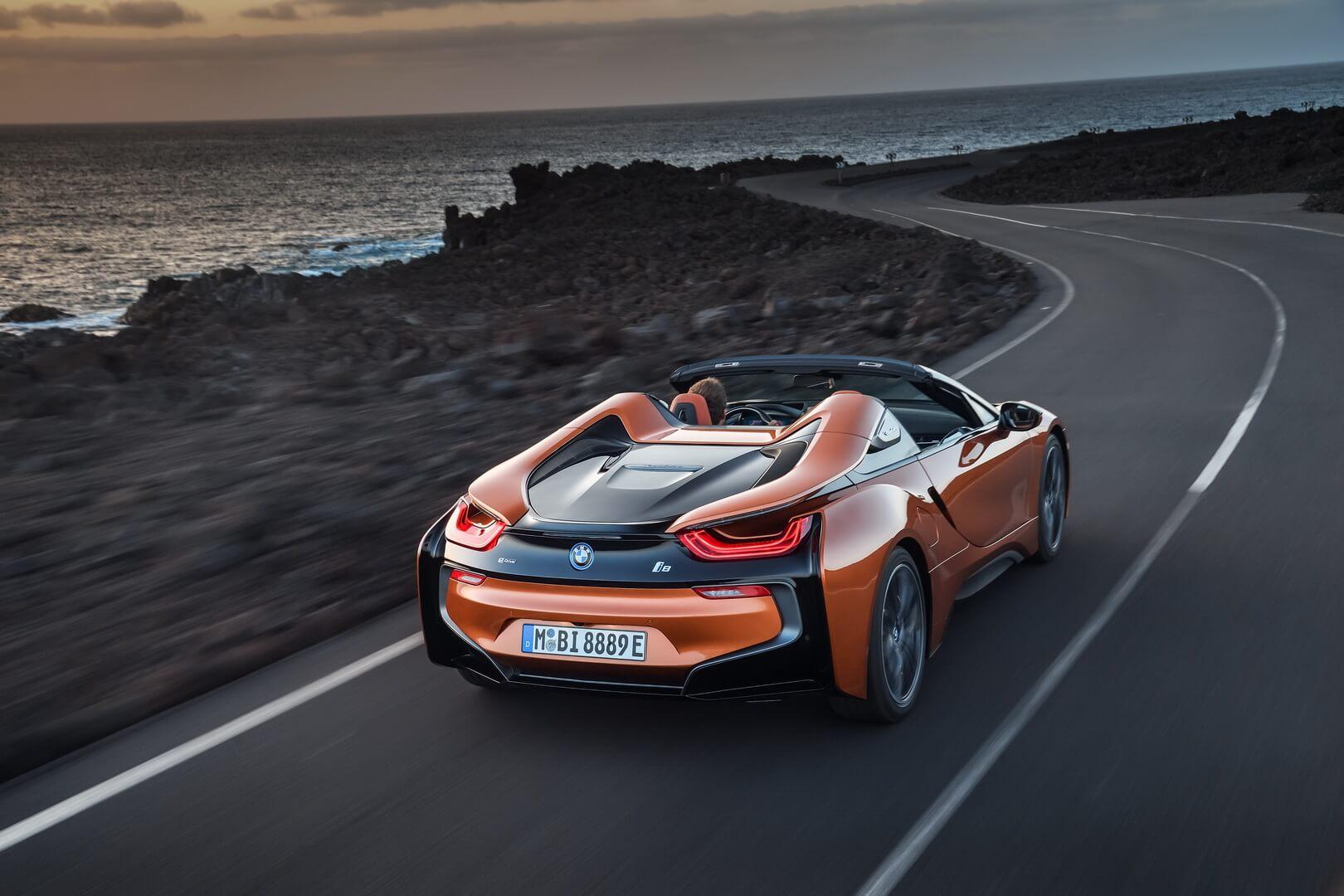 Фотография экоавто BMW i8 Родстер 2018 - фото 8