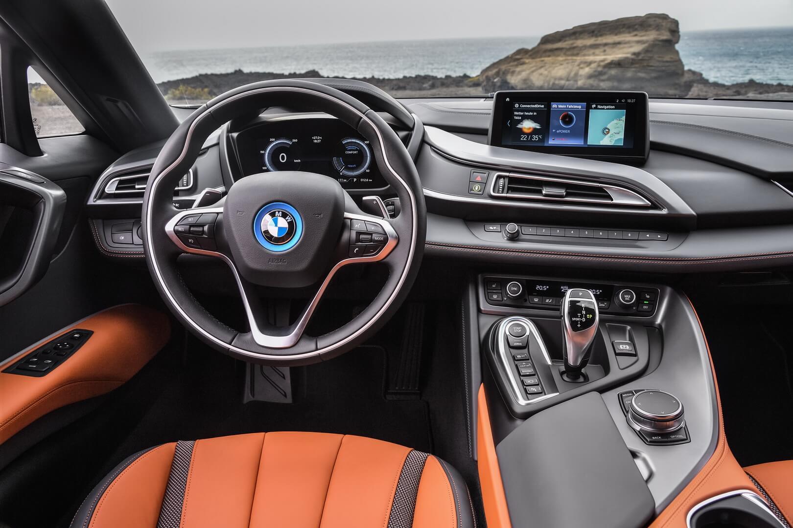 Фотография экоавто BMW i8 Родстер 2018 - фото 15