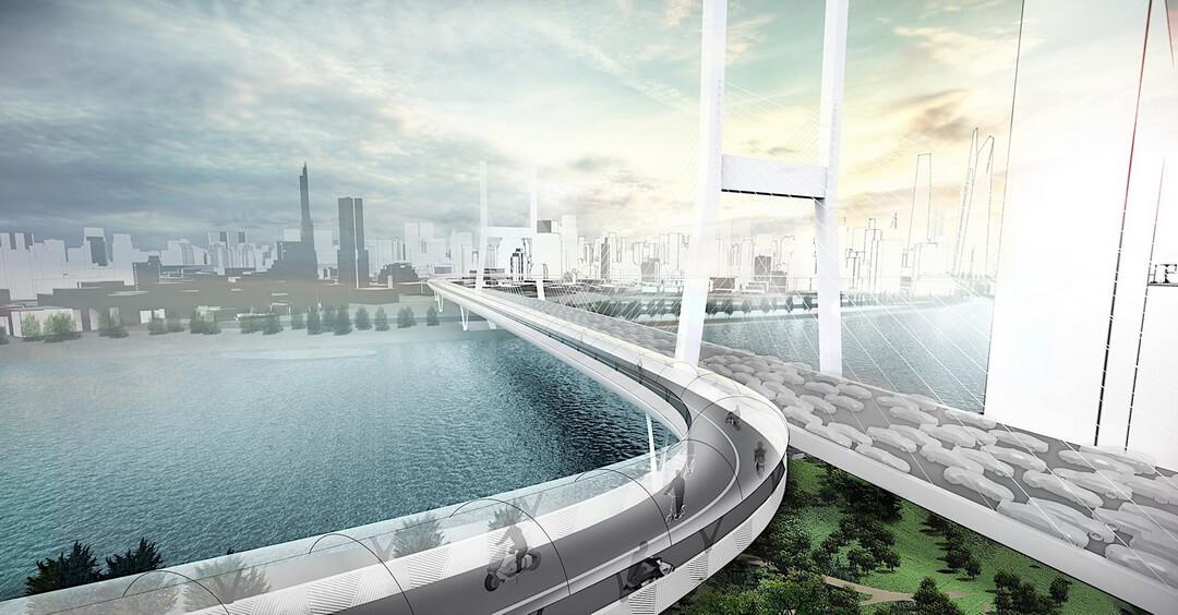 Концепция дороги Vision E³ Way для экологических видов транспорта — фото 2