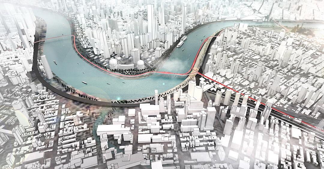 Концепция дороги Vision E³ Way для экологических видов транспорта — фото 5