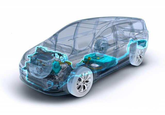 Силовая установка Chrysler Pacifica Hybrid