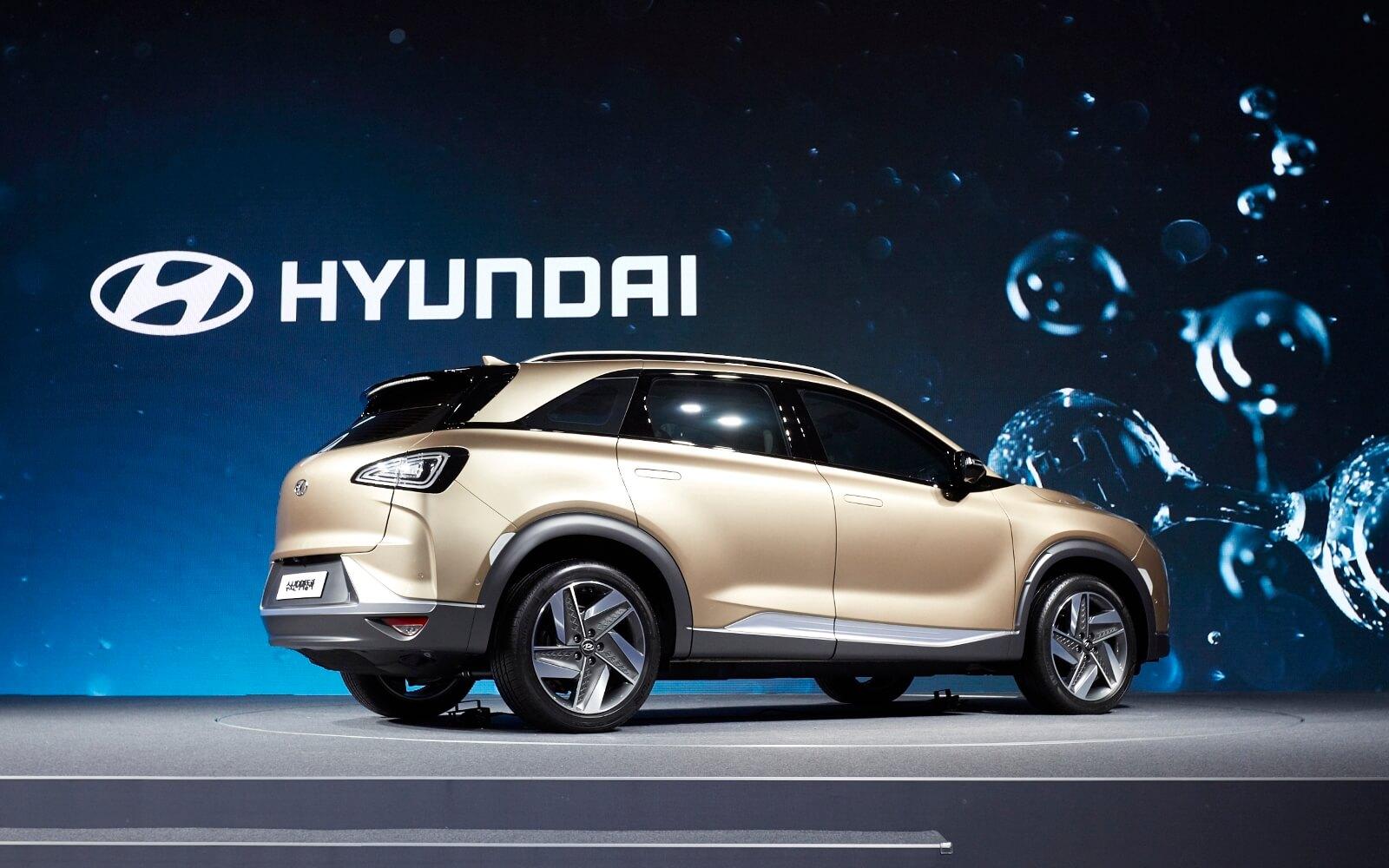 Внедорожник Hyundai FCEV (Tucson FCEV) второго поколения