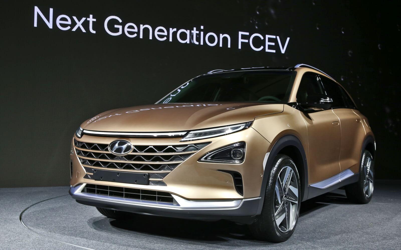 Внедорожник Hyundai FCEV второго поколения