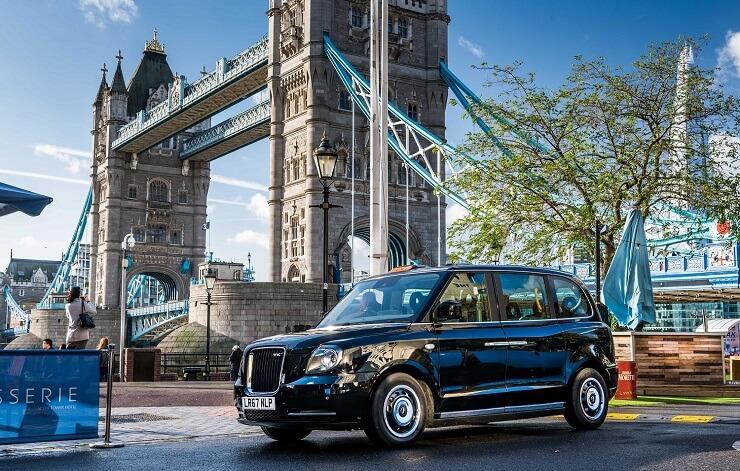 Электрические «черные кэбы» в такси Лондона