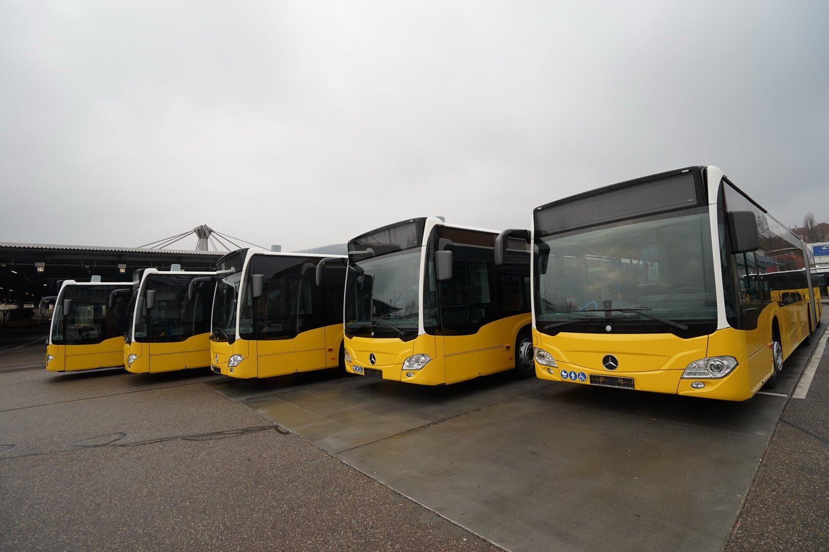 Гибридные автобусы Mercedes-Benz CitaroG