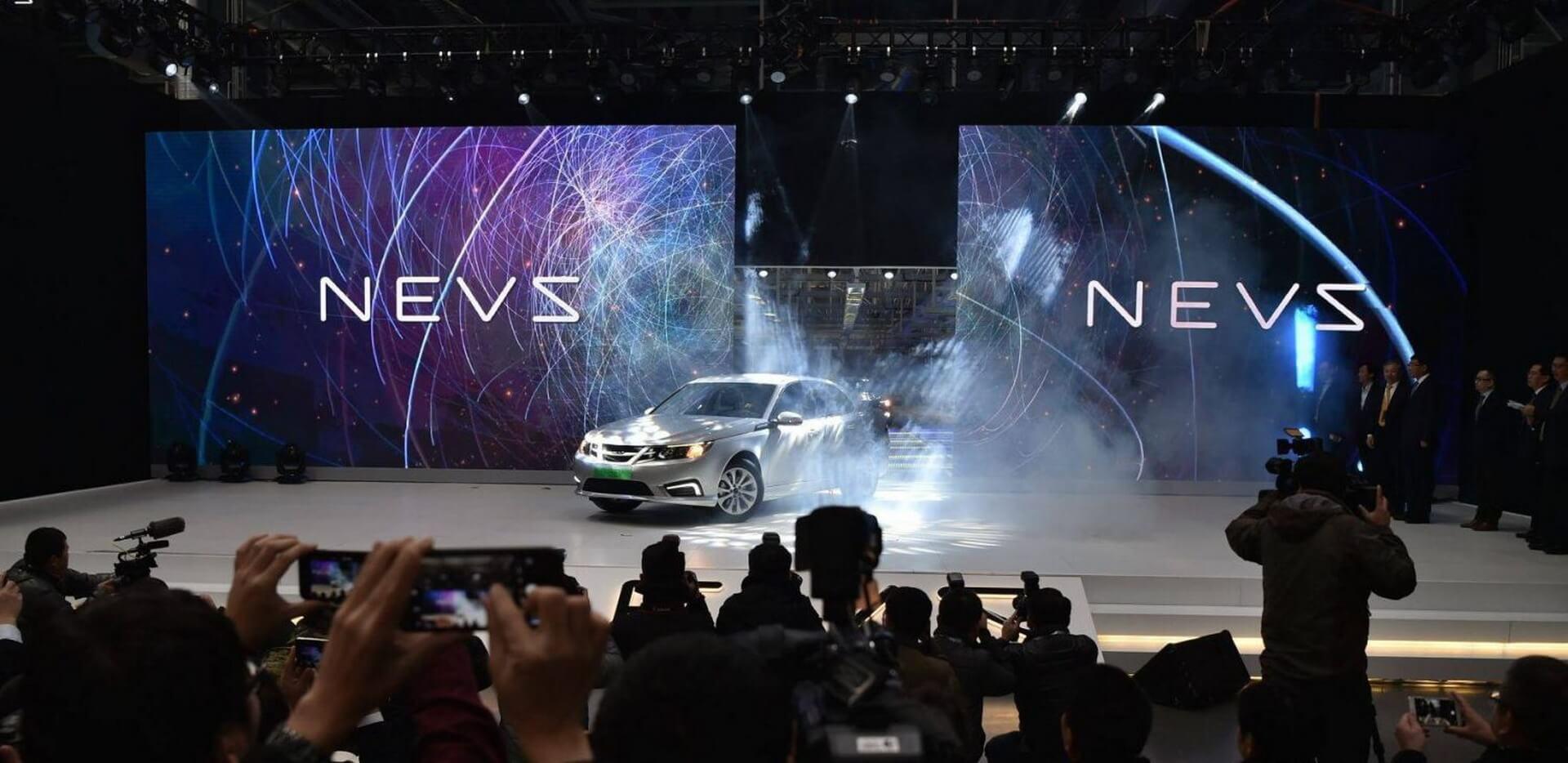 Представление электромобиля NEVS 9-3 EV