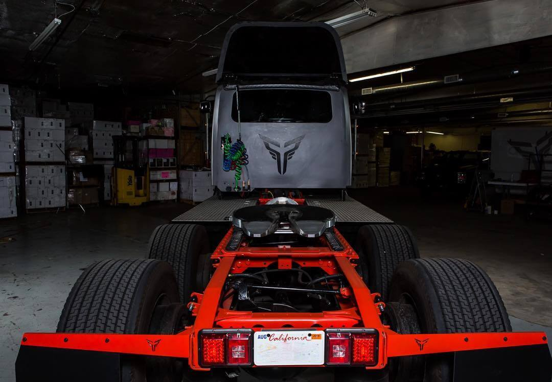 Грузовики шасси электрического грузовика ET-One