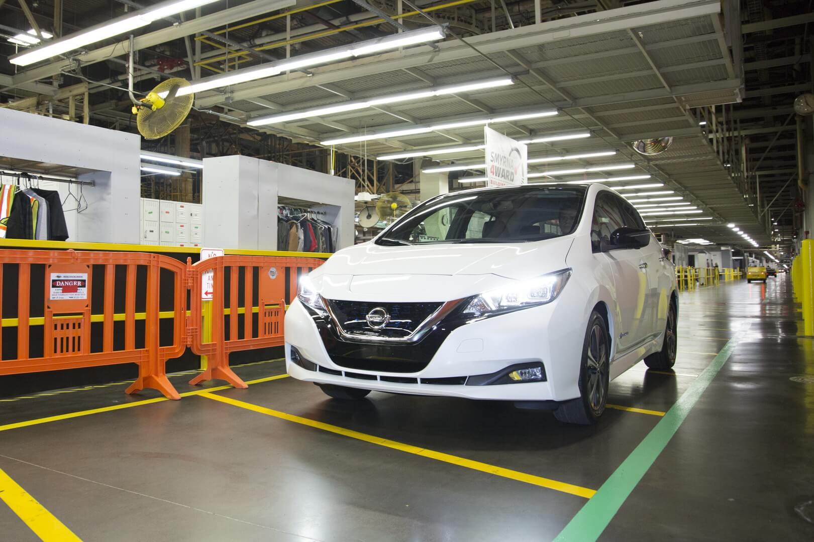 Новый Nissan Leaf второго поколения