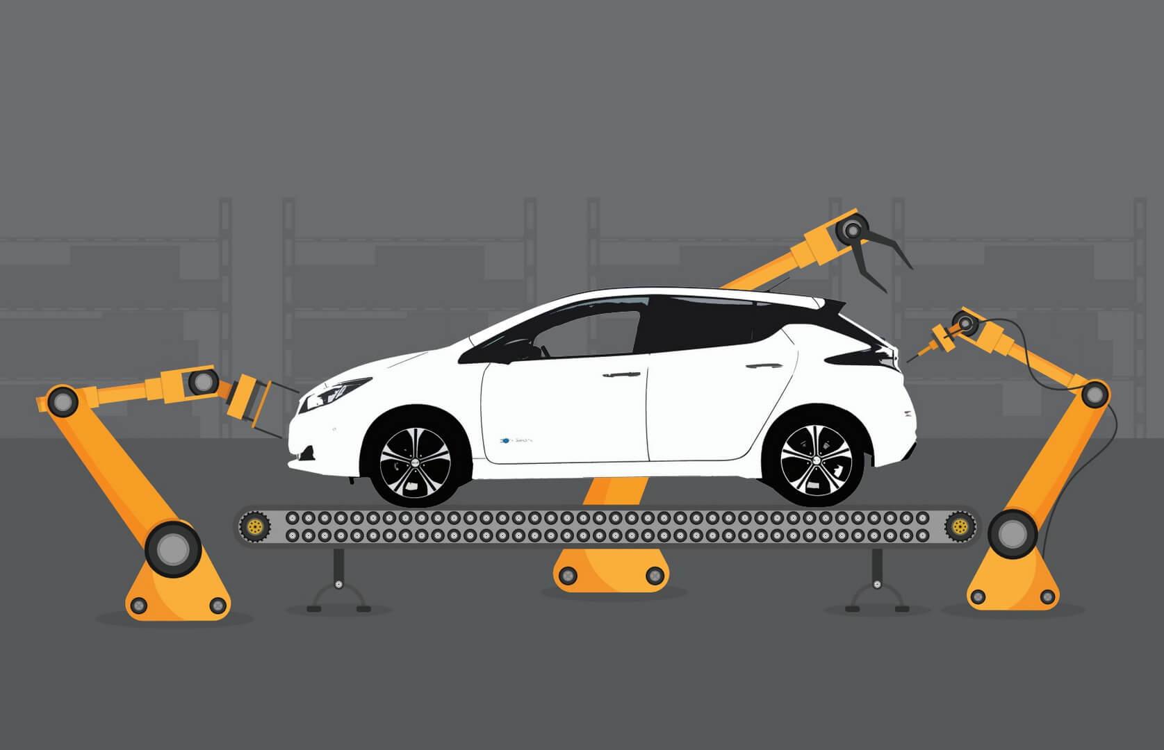 Nissan начинает производство нового поколения Leaf 2018на заводе вСмирне (США)