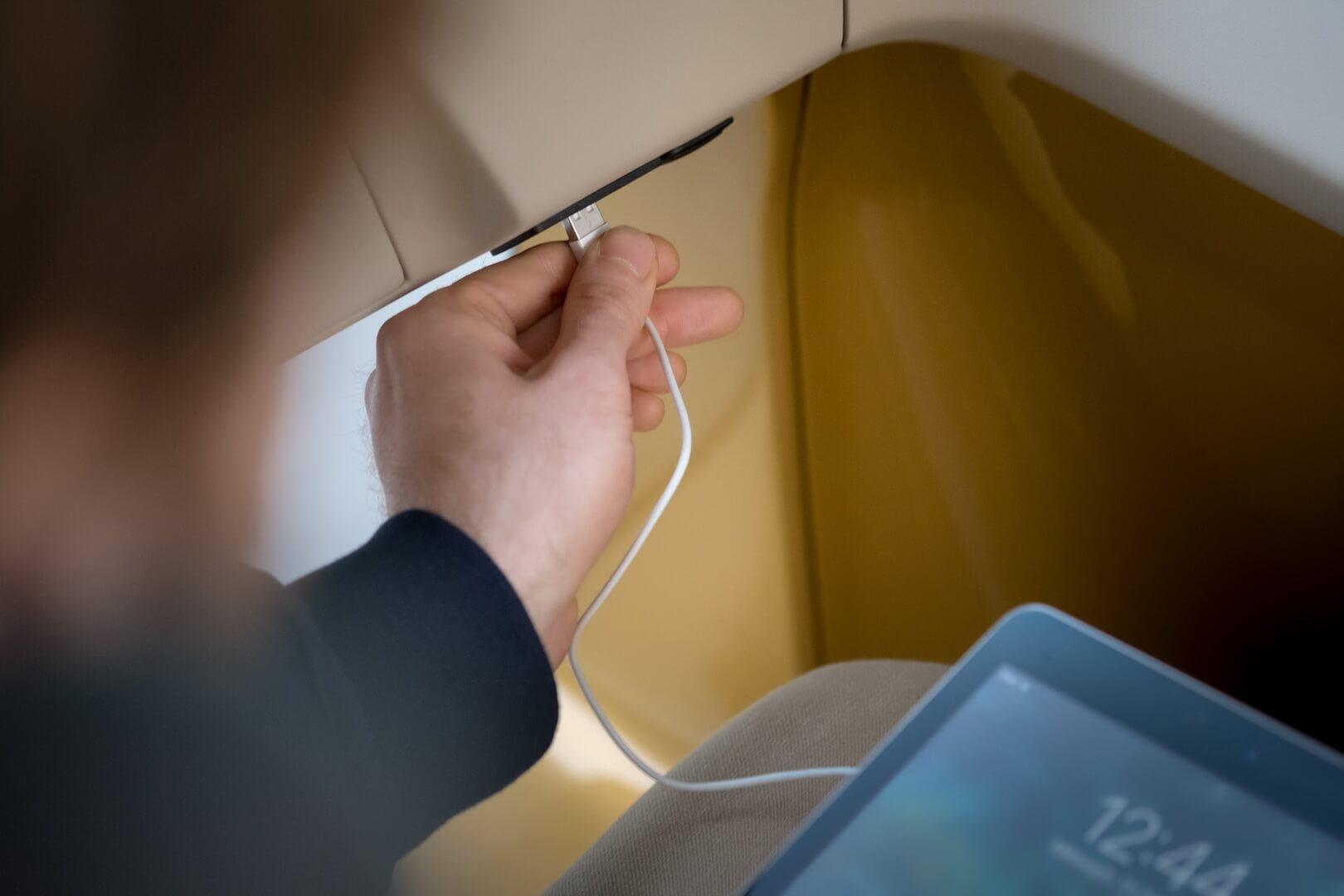 USB-порты для подключения и зарядки гаджетов