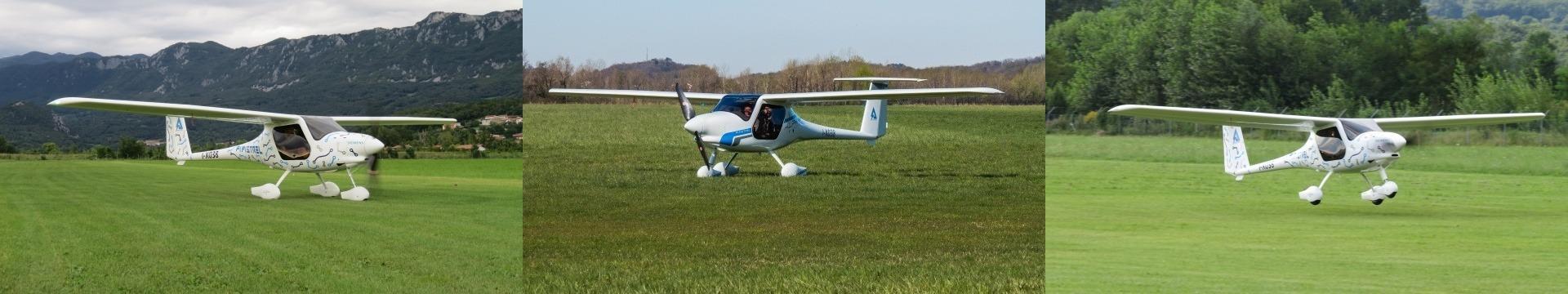 Электрический самолет Alpha Electro