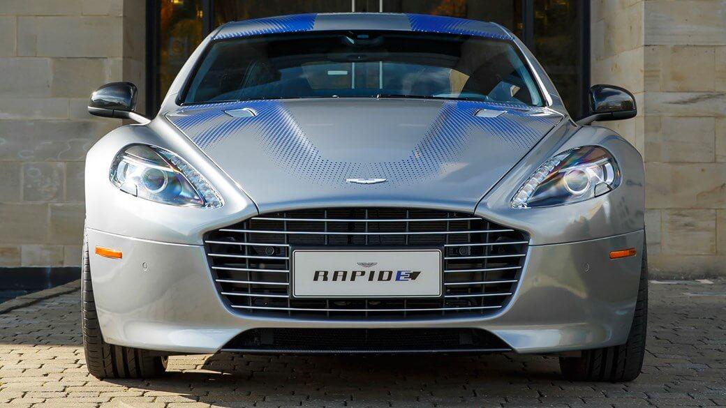 Электрокар Aston Martin RapidE