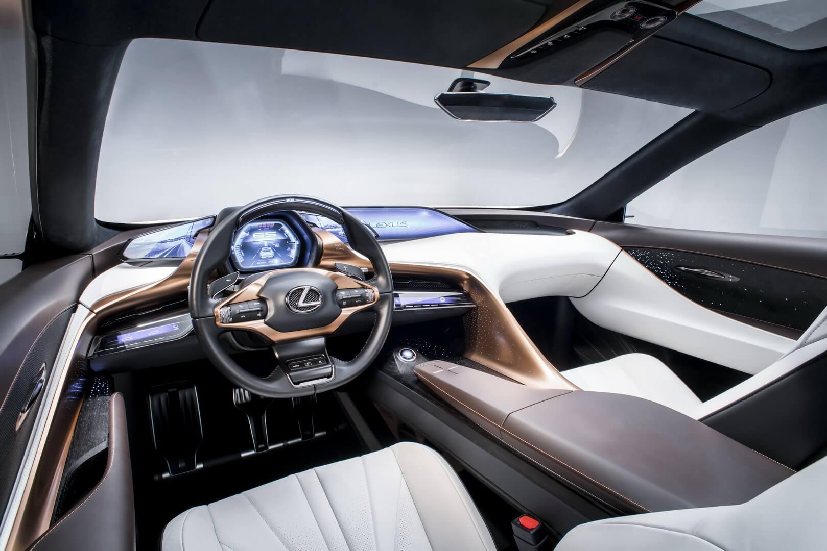 Салон Lexus LF-1Limitless
