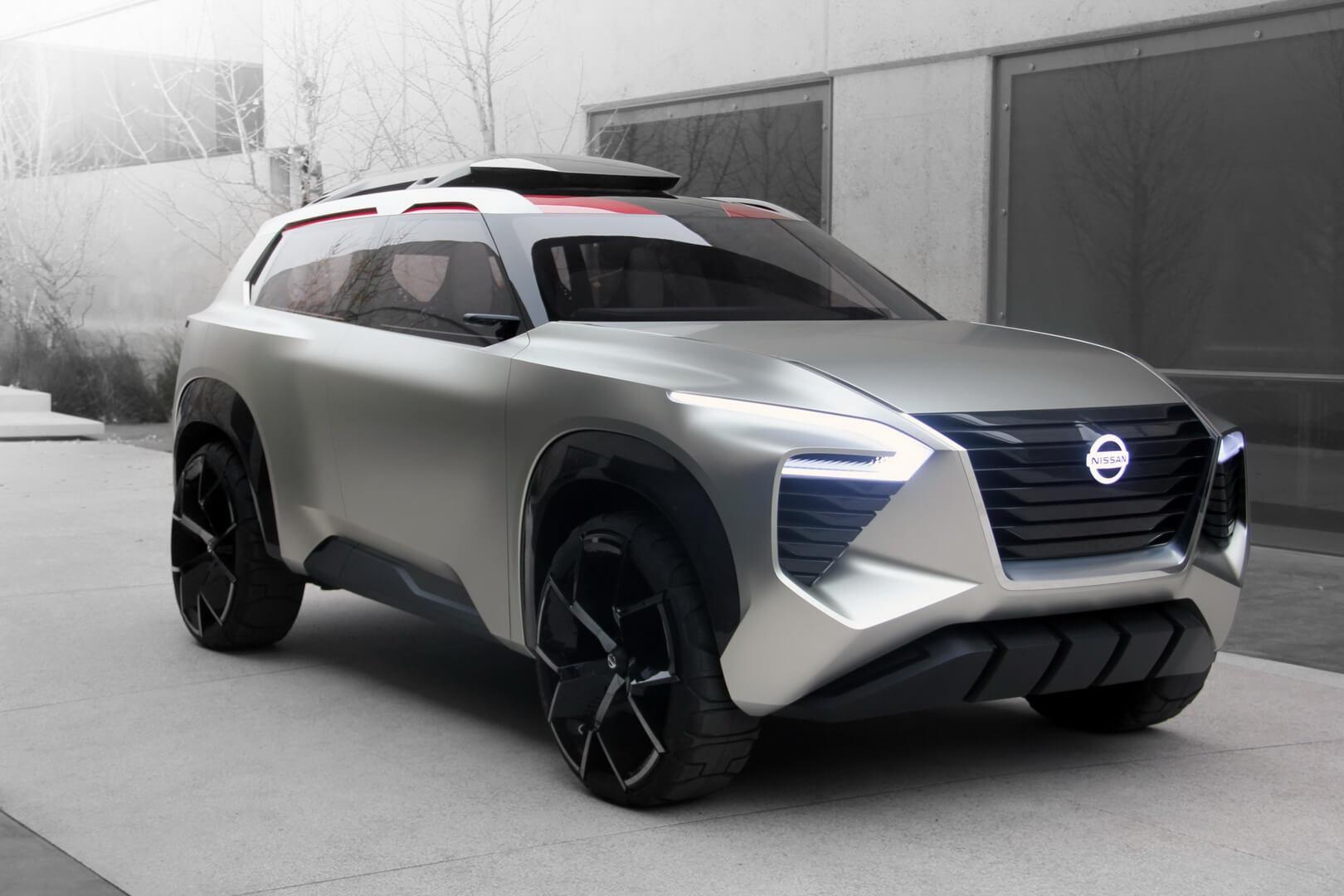 Концепт 6-местного кроссовера Nissan Xmotion