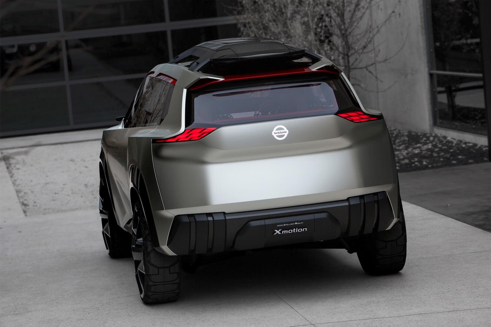 Nissan Xmotion — вид сзади