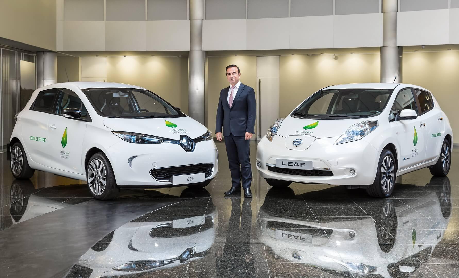 Карлос Гон и электромобили альянса