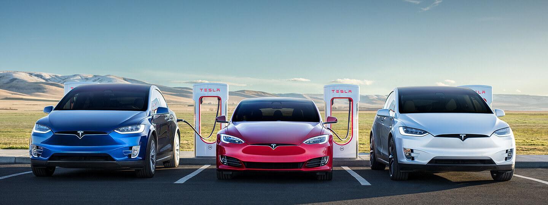Карта электрозаправок Tesla Supercharger: быстрые зарядные станции ...