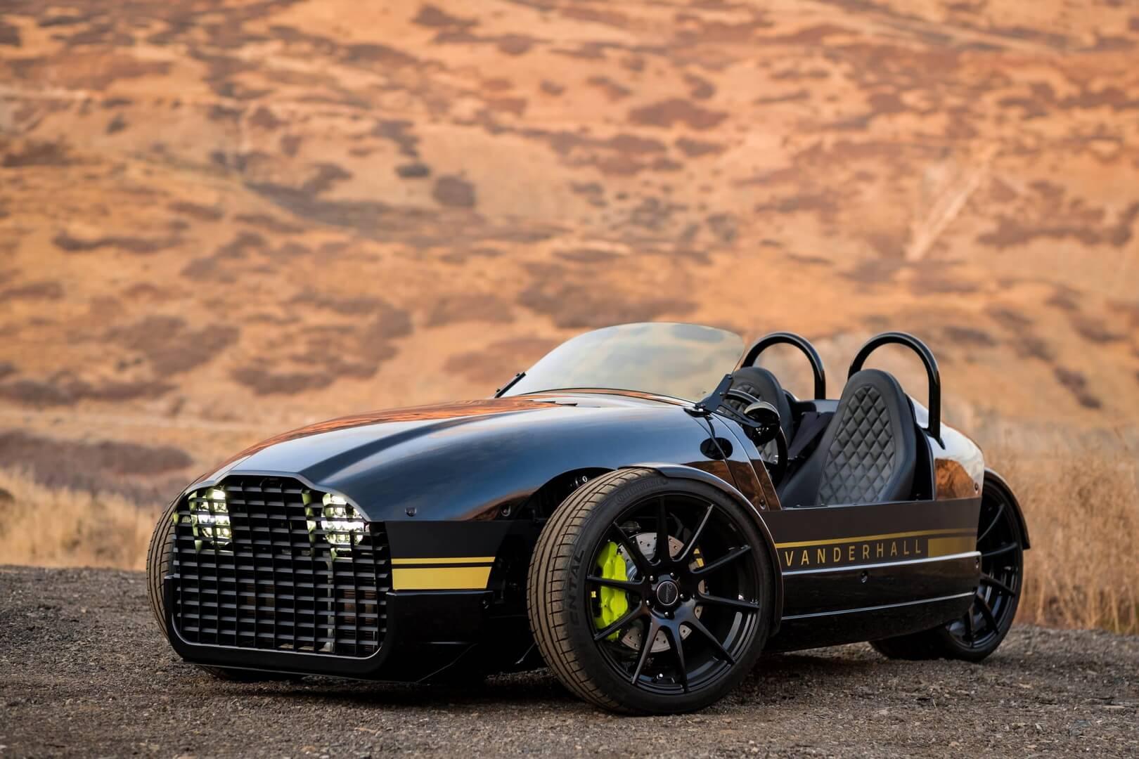 Электрический трехколесный автомобиль Edison2