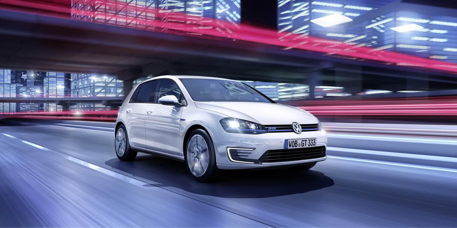 Плагин-гибрид Volkswagen Golf GTE