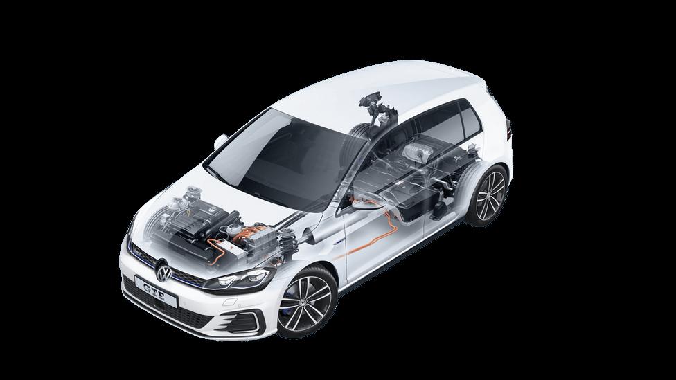 Силовая установка иАКБ Volkswagen Golf GTE