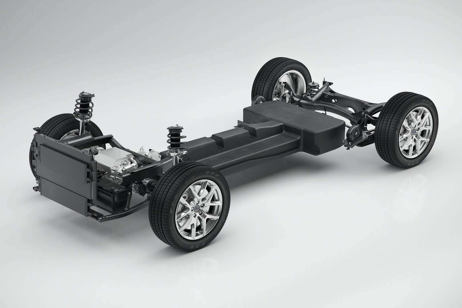 Силовая установка Volvo 40.2